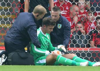 Sean Dyche laments Nick Pope injury: