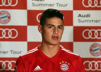 James Rodriguez open to joining Bayern permanently