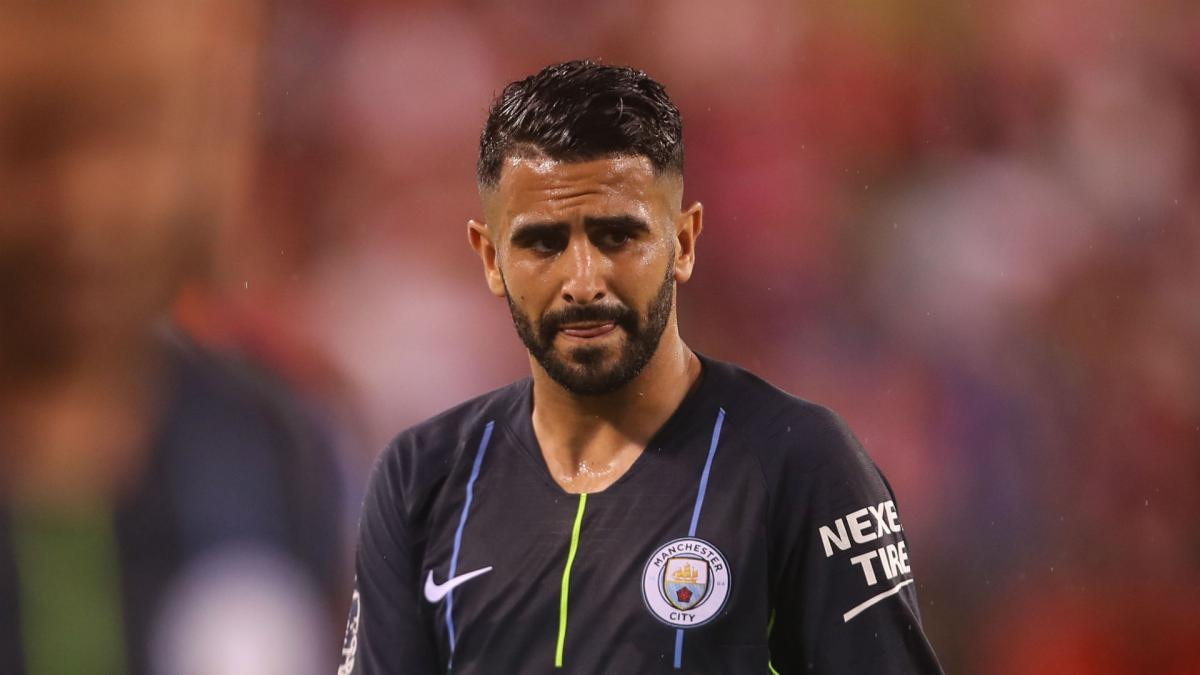 Man City clear Mahrez for training ahead of Chelsea clash
