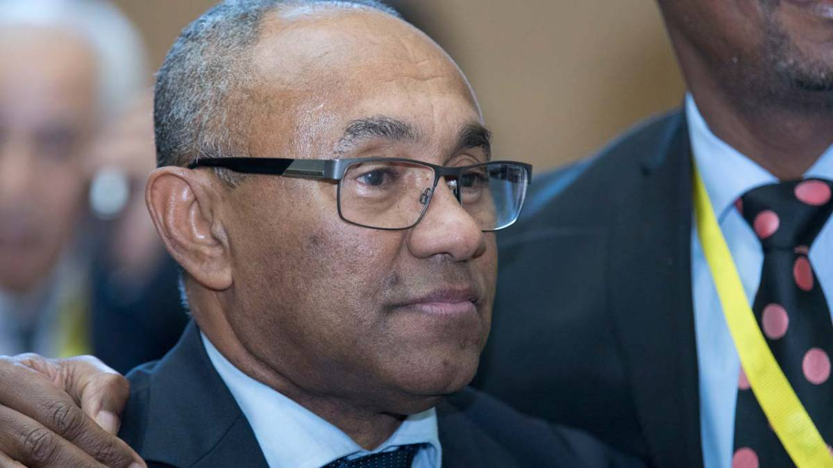 "Caf has started to ""fight corruption"" in African football, claims Ahmad"