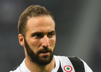 Higuaín in Milan ahead of expected Rossoneri loan