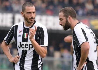 Allegri confirms Bonucci swap with Higuaín and Caldara