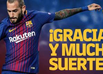 Aleix Vidal completes return to Sevilla from Barcelona