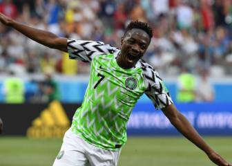 Ahmed Musa leaves Leicester City for Saudi club Al-Nassr