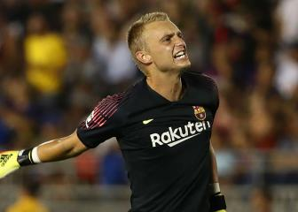 Valverde wants Jasper Cillessen to stay at Barcelona