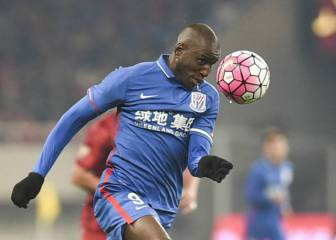 Chinese FA investigating racist slurs against Senegalese striker Demba Ba