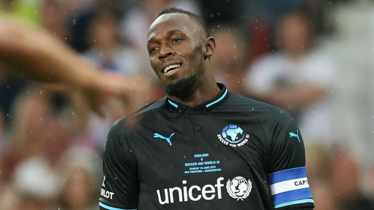 Usain Bolt to train with A-League's Mariners indefinitely