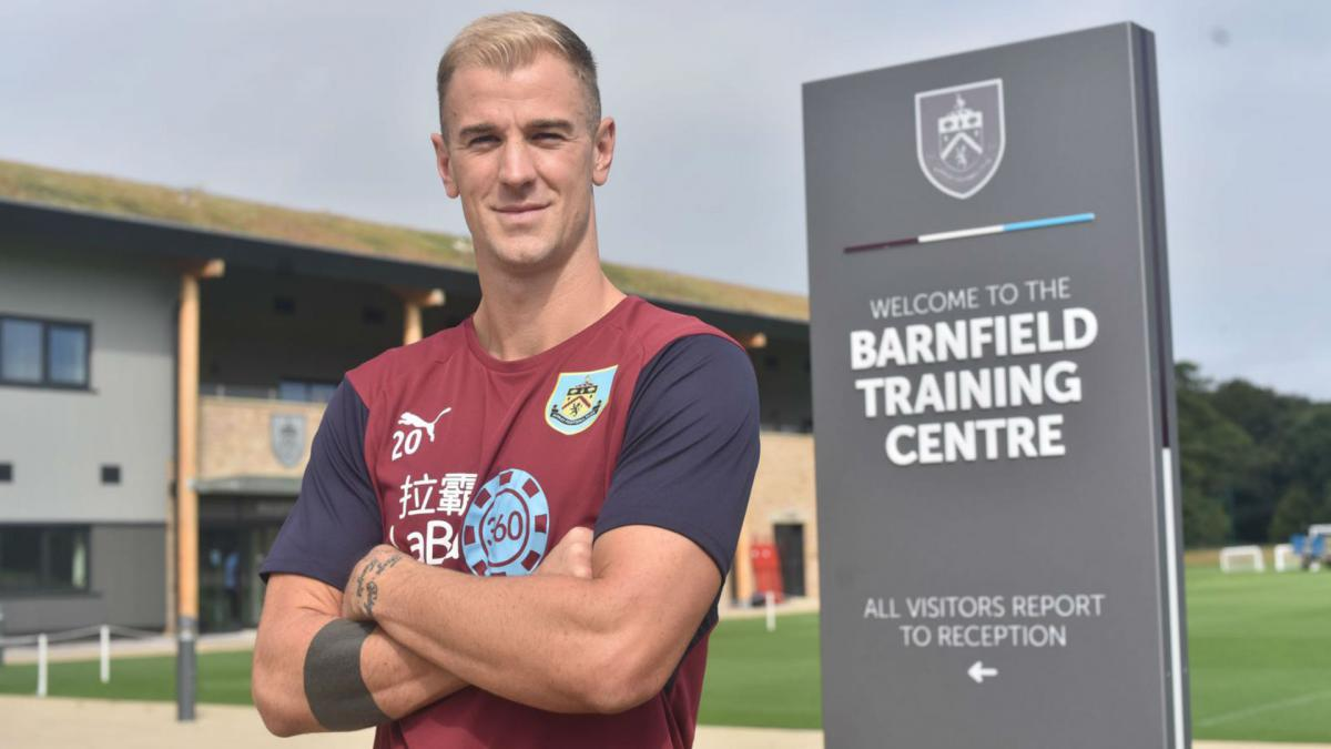 Burnley complete Hart capture from Manchester City