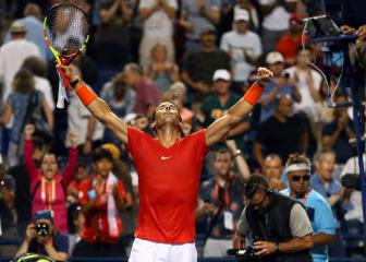 Nadal pips Wawrinka thriller, Djokovic stunned by Greek teen