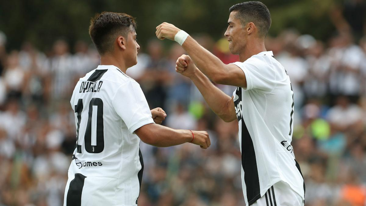 Ronaldo nets first Juventus goal in friendly against Primavera side