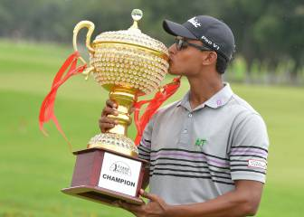 India's 20-year-old Viraj Madappa wins Asian Tour title