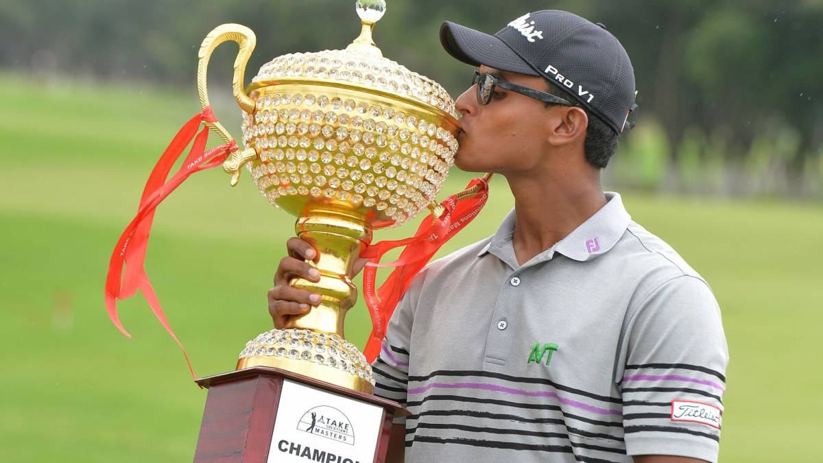 Golf: India's 20-year-old Viraj Madappa wins Asian Tour title