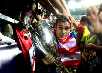Griezmann: Super Cup triumph justifies staying at Atletico