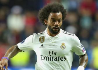 Marcelo happy with Madrid squad amid transfer talk