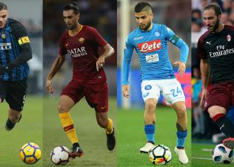 Serie A crown: Napoli, Roma, Inter and Milan target Juventus