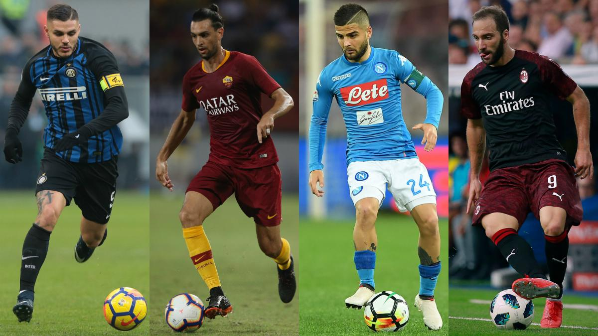 Serie A 2018-19: Can Napoli, Roma, Inter or AC Milan overhaul Juventus?