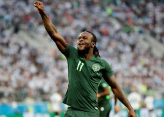 Nigeria shocked by Victor Moses' premature international retirement