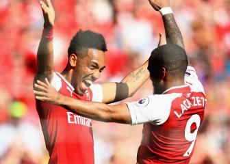 Auba-Lacazette partnership possible for Arsenal - Emery