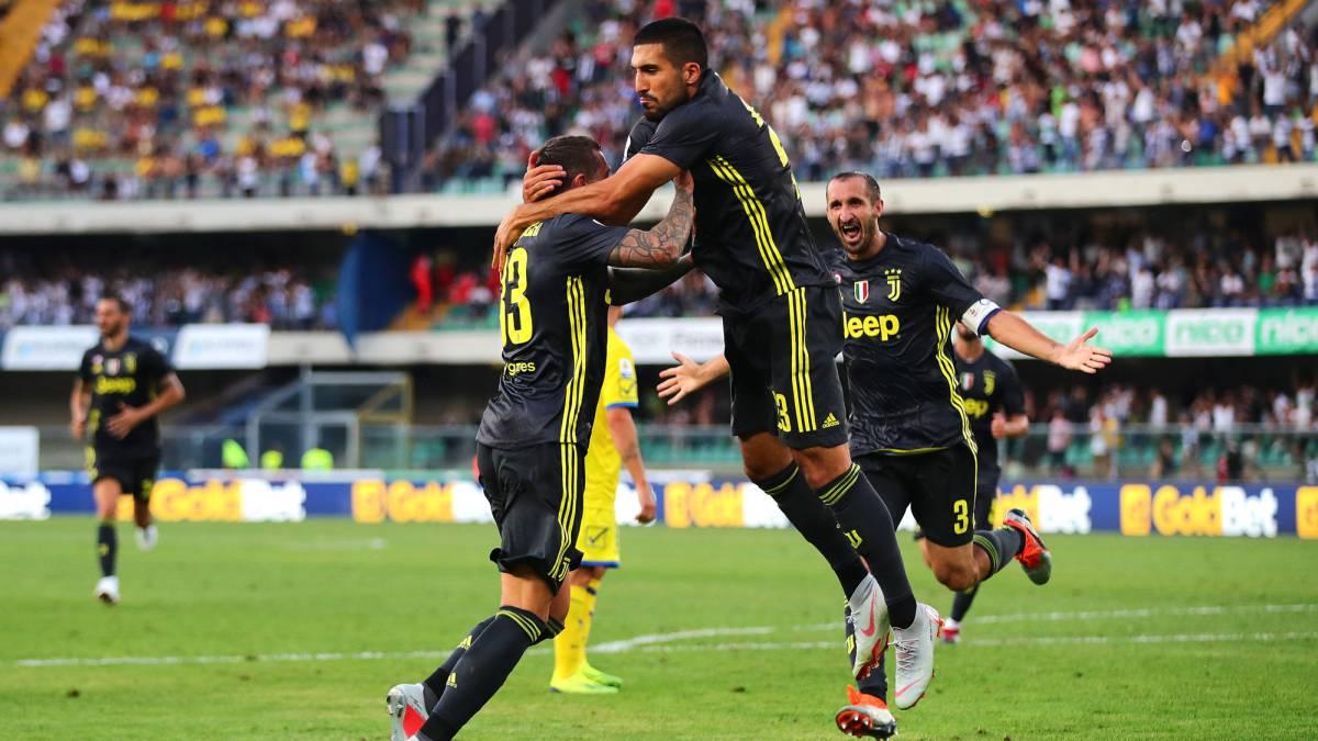 85956c944a4 Chievo 2-3 Juventus: Ronaldo's Serie A debut match report - AS.com