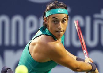 Caroline Garcia battles past Sasnovich in Connecticut