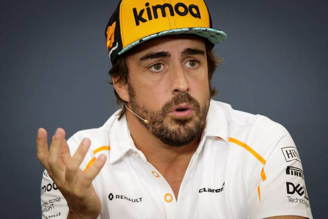 Fernando Alonso, speaking ahead of F1 Belgian GP.