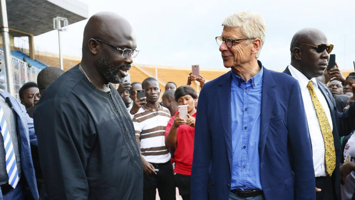Arsene Wenger inducted into Liberia's Order of Distinction