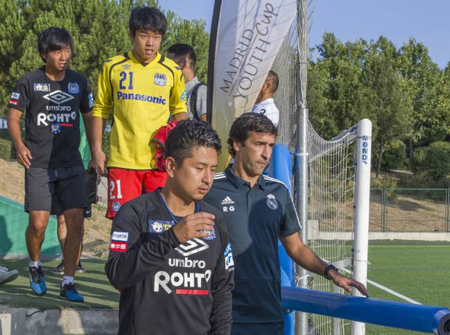 Raúl made his coaching debut with Real Madrid's Under-16s against Japan's Gamba Osaka in the Madrid Youth Cup on Friday.