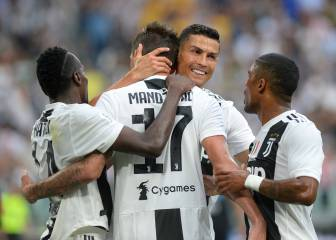 Pjanic and Mandzukic give Juventus all three points