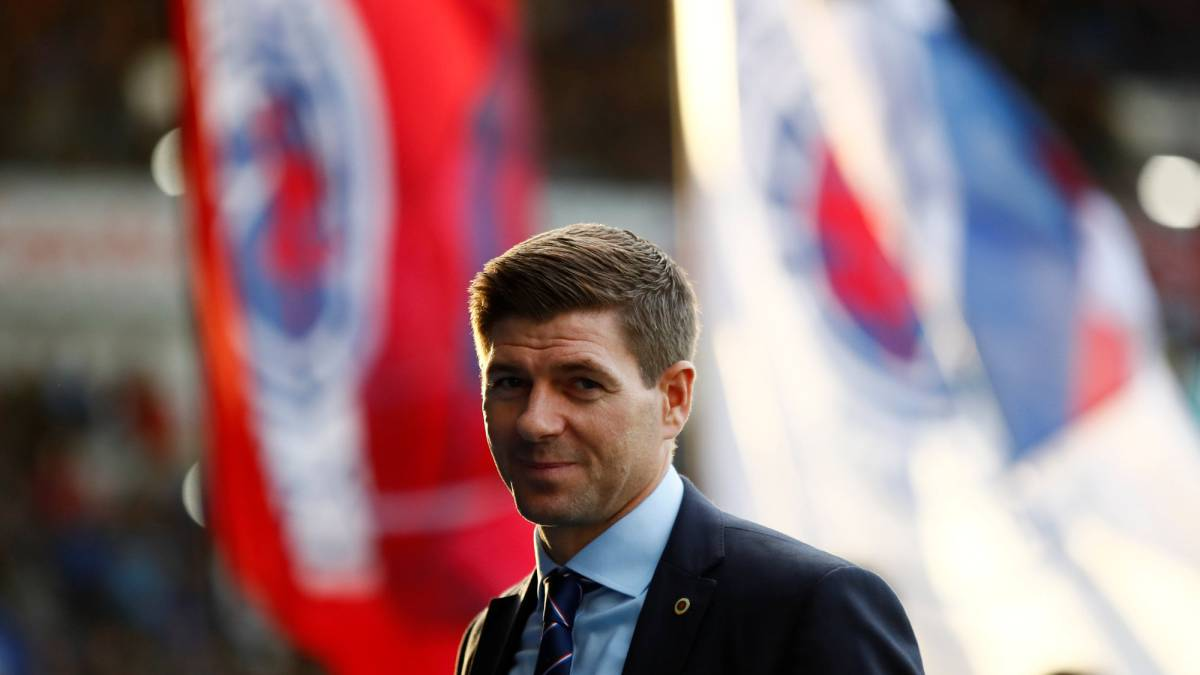 Late strike denies Gerrard's Rangers of maximum points