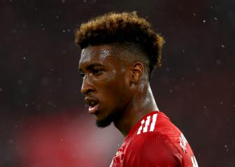 Coman surgery successful but winger out for 'long spell'