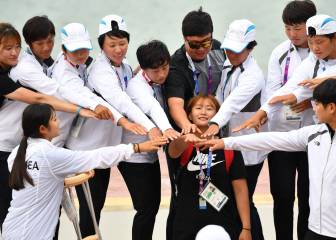 Unified Korea dragon boat team win historic gold at Asian Games