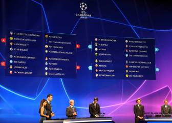 Uefa Champions League 2018/19 groups and winners
