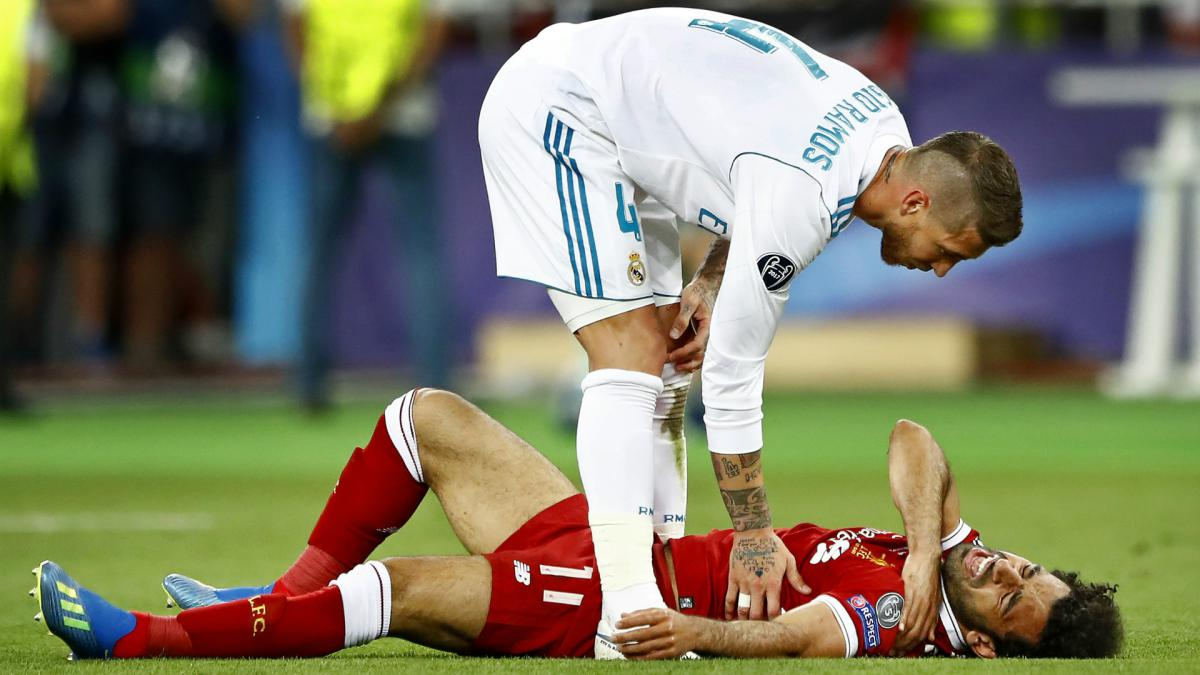 Cold shoulder? Salah, Ramos share awkward meeting at Champions League draw
