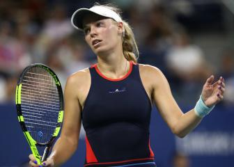 Wozniacki crashes out; Sharapova to meet Ostapenko