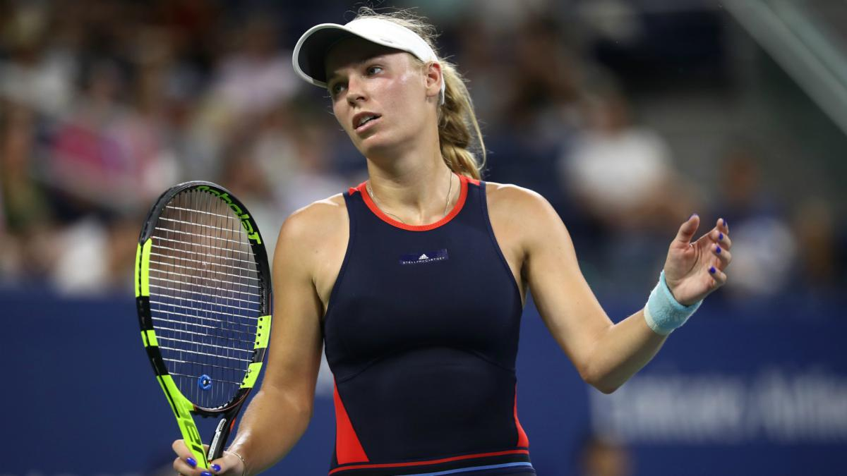 Wozniacki crashes out of US Open, Sharapova to meet Ostapenko