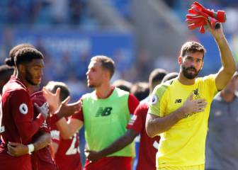 Liverpool maintain perfect start, despite Alisson howler