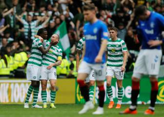 Rangers beaten by Celtic in Gerrard's first Old Firm derby