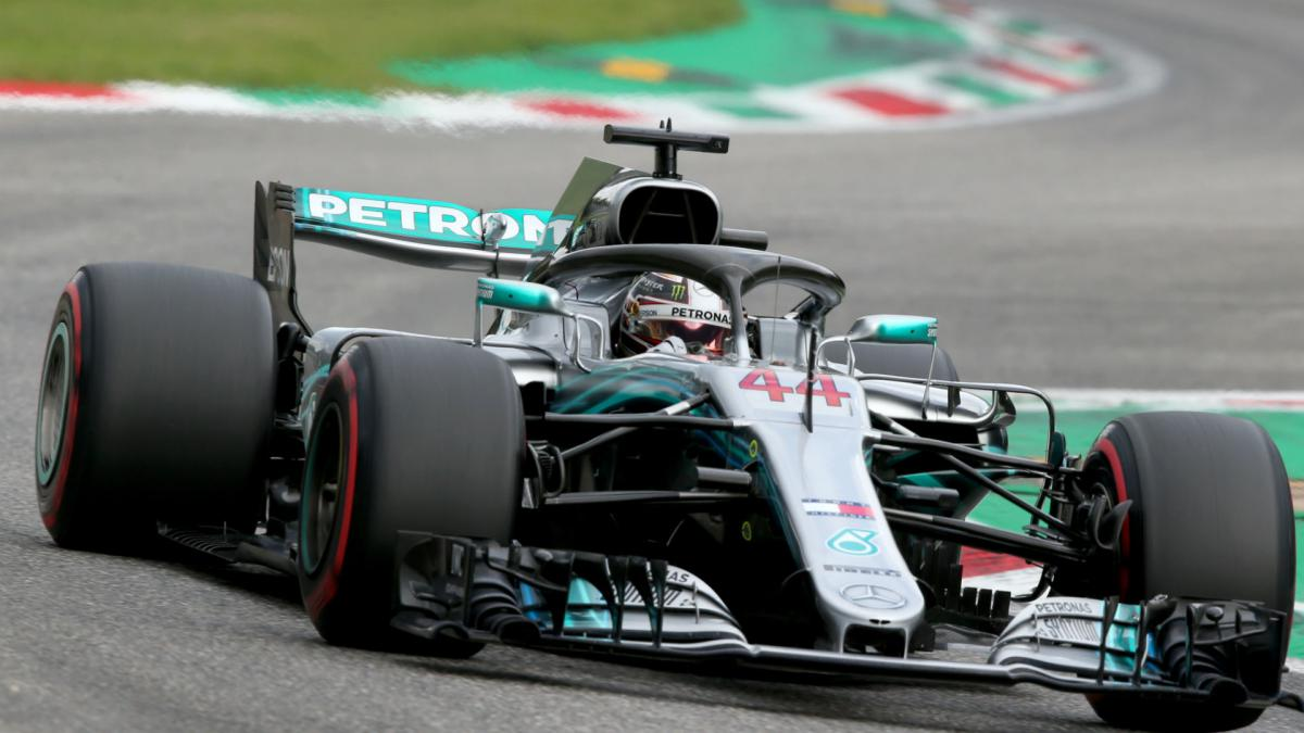 Hamilton claims record-equalling victory as Vettel falters at Monza