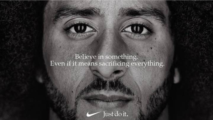 Kaepernick the face of Nike\'s 30th anniversary \'Just Do It\' campaign