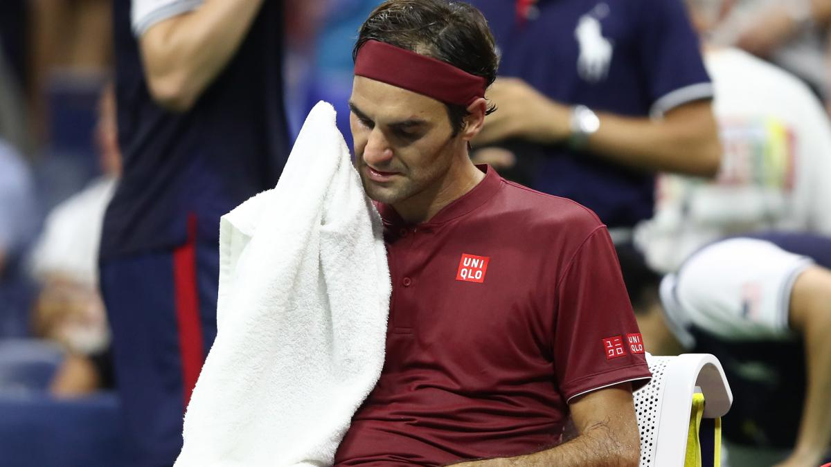 I couldn't get air – Federer admits to struggles in US Open heat