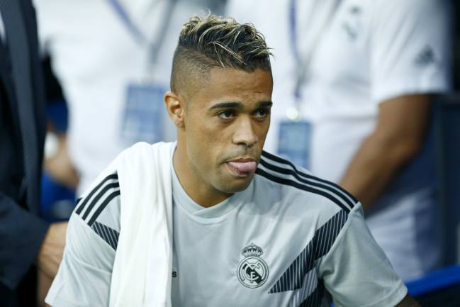 Needed number nine | Real Madrid's Dominican forward Mariano.