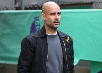 Guardiola relates golfers' yellow ribbon stance to Catalonia fight
