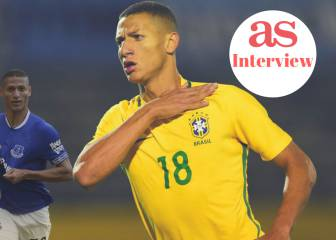 "Richarlison: ""I sold sweets and ice-cream to help my family"""