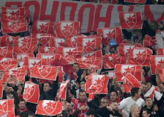 Red Star Belgrade fans banned from PSG and Liverpool games