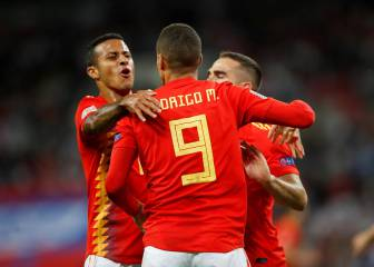 Spain's evolution begins with win over England at Wembley