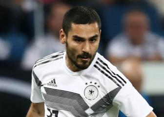 Gundogan admits Germany are still 'a bit insecure'