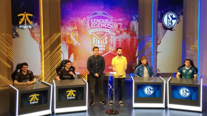 Fnatic see off Schalke 04 in Madrid League of Legends summer finals