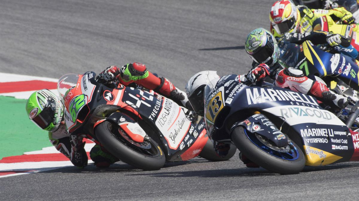 Moto2 rider\'s contract terminated after pulling rival\'s brake lever