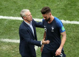 Deschamps: Giroud criticism unfair as striker goes fourth