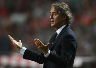 Mancini demands more from Italy forwards after defeat